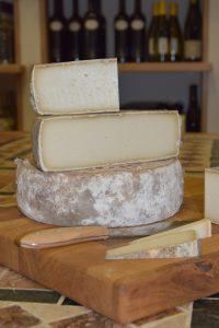 angeschnittener Käse